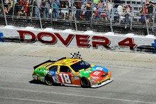 NASCAR - Kyle Busch und Toyota siegen auch in Dover