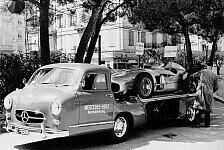 Formel 1 - Die Geschichte der Mercedes-Renntransporter