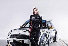 MINI Challenge - Cora Schumacher steigt wieder ins Renncockpit