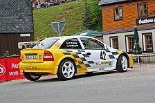 DRM - Sportpräsident bei der Sachsen Rallye am Start