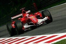 Formel 1 - Monza fürchtet um Rennen und Rekord
