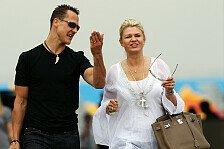 Formel 1 - Corinna Schumacher: Lasst uns in Ruhe
