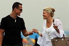Formel 1 - Dankesbotschaft an Fans von Corinna Schumacher