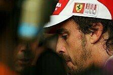 Formel 1 - WM-Stand die beste Nachricht für Alonso