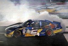 NASCAR - Kurt Busch holt Doppelsieg in Charlotte