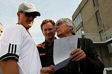 Formel 1 - Ecclestone: Schumacher darf ewig bleiben