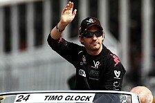 Formel 1 - Glock nach Blinddarm-OP wieder zuhause