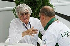 Formel 1 - Ecclestone: Zehn Teams reichen der Formel 1