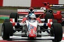 Formel 2 - Palmer kommt als Tabellenführer nach Brands Hatch