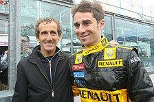 Formel 1 - Prost testet für Lotus Renault GP