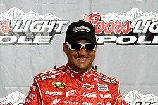 NASCAR - Dritte Sprint-Cup-Pole für Juan Pablo Montoya