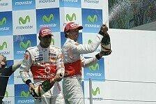 Formel 1 - Bilder: Europa GP - Podium