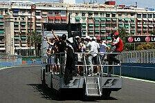 Formel 1 - Bilder: Europa GP - Sonntag