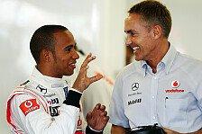 Formel 1 - Whitmarsh durch McLaren-Speed ermutigt