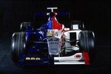 Formel 1 - Bilderserie: Der B·A·R 001 - Der Paradiesvogel