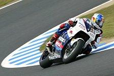 MotoGP - Freies Training: Suzuki meldet Ansprüche an
