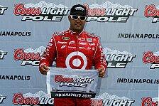 NASCAR - Juan Pablo Montoya holt Indianapolis-Pole