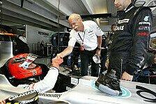 Formel 1 - Zetsche: Viel Spaß mit Schumacher