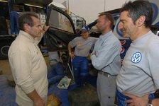 Formel 1 - Hoher Besuch: Jacky Ickx bei der Rallye Dakar
