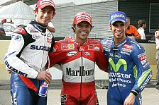 MotoGP - Qualifying: Capirossi auf Pole
