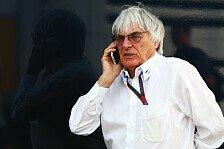 Formel 1 - Bahrain-GP: Ecclestone ist optimistischer