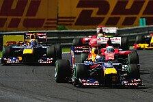 Formel 1 - Ungarn GP: Webber holt vierten Sieg