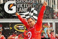 NASCAR - Juan Pablo Montoya kann doch noch gewinnen