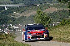WRC - Deutschland Tag 1: Loeb und Sordo dominieren