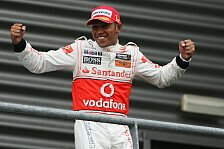 Formel 1 - Belgien: Hamilton gewinnt Chaosrennen