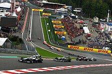 Formel 1 - Belgien GP: Streckenvorschau