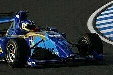 Formel 2 - Clarke beendet Testfahrten an der Spitze