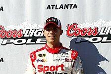 NASCAR - Erste Saisonpole für Denny Hamlin in Atlanta