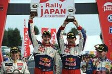 WRC - WM-Läufe in China und Japan geplant