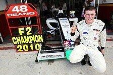 Formel 2 - Stoneman bereitet sich auf großen Test vor