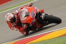 MotoGP - Stoner holt in Aragon ersten Saisonsieg