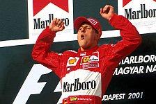 Formel 1, Weltmeister-Statistik: Wer ist bester Vierfach-Champ?