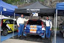 ADAC Rallye Masters - Lasar Kan und Falkmar Platz in Schweden