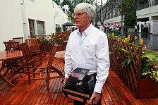 Formel 1 - Ecclestones Bahrain-Sorge wieder gestiegen