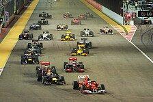 Formel 1 - Singapur: Alonsos zweiter Sieg in Serie