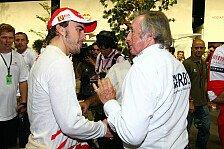 Formel 1 - Stewart: Flüchtet Alonso vor Räikkönen?