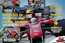 Formel 1 - Top-Themen im neuen Motorsport-Magazin