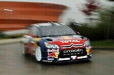 WRC - Frankreich Tag2: Loeb und Sordo weiter vorn