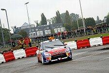 WRC - Frankreich Tag 1: Loeb vor Sordo