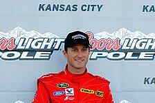 NASCAR - Kasey Kahne holt Kansas-Pole vor Paul Menard