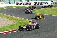 Formel 1 - Japan GP: Vettel gewinnt in Suzuka
