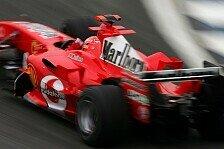 Formel 1 - Schumacher treibt Entwicklung voran