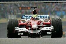 Formel 1 - Toyota: Rückschlag auf der Ferrari-Jagd