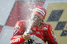 MotoGP - Malaysia GP: Capirossi siegt - Rossi holt den Titel