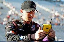 NASCAR - Denny Hamlin steht in Martinsville auf Pole