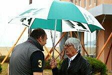 Formel 1 - Ecclestone: Wie wäre es mit künstlichem Regen?